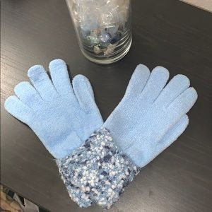 Accessories - Light blue gloves